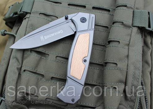 Нож полуавтоматический Browning F80 (Браунинг), фото 2