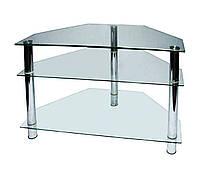 Стеклянный столик под ТВ- 6