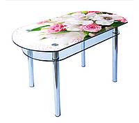 Стол кухонный стекляннный КС- 5
