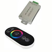 RGB Контроллер с радиоуправлением 24А (сенсорный пульт)