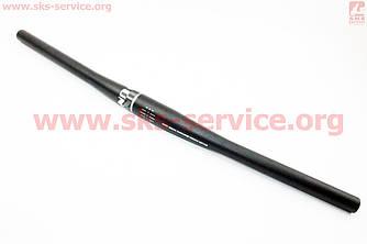 Руль на MTB прямой 31,8х600мм алюминиевый, черный HB-FB12