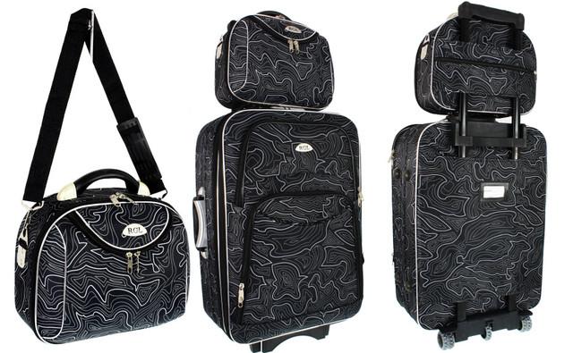 Чемодан сумка Rgl 773 + сумочка. Большой размер