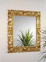 """Зеркало для прихожей """"Пиония Голд"""""""