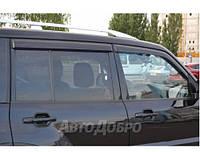 Ветровики на авто Mitsubishi Pajero III 5d 1999-2006