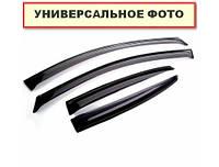 Ветровики на авто Peugeot Partner II 3d 2009-