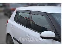 Ветровики на авто Skoda Fabia II Hb 2007-