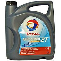 Масло для двухтактных двигателей лодочных моторов TOTAL NEPTUNA 2T SUPER SPORT  канистра 5л