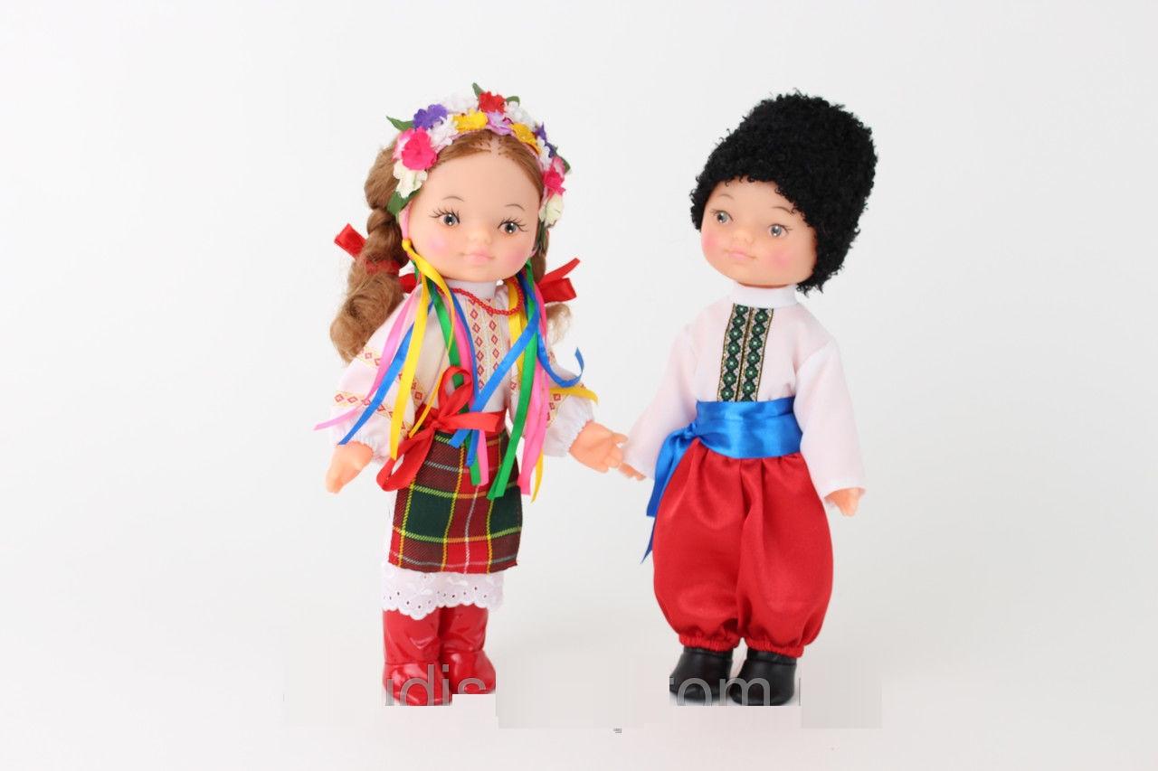 """*Набор кукол в украинских национальных костюмах """"Дiти Украiни"""" Украина арт. 219"""