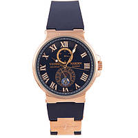 Наручные часы Ulysse Nardin Maxi Marine Chronometer Dark Blue Gold, фото 1