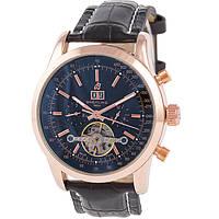 Механические мужские часы Breitling Mulliner Tourbillon Black, фото 1