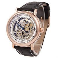 Мужские часы скелетон Breguet Skeleton Silver, фото 1