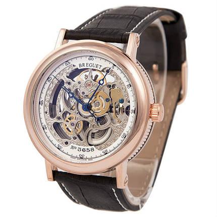 Мужские часы скелетон Breguet Skeleton Silver реплика, фото 2