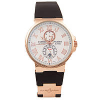 Наручные часы Ulysse Nardin Maxi Marine Chronometer Gold Black, фото 1