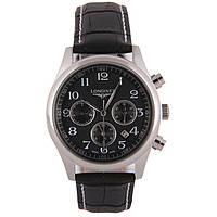 Мужские классические часы Longines Master Collection Black, фото 1