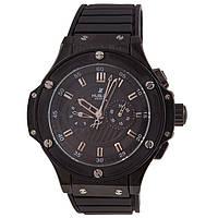 Стильные мужские часы Hublot King Power Steel All Black, фото 1