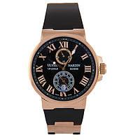 Наручные часы Ulysse Nardin Maxi Marine Chronometer Gold AAA, фото 1