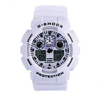 Распродажа! Спортивные часы Casio G-Shock ga-100 White