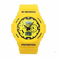 Распродажа! Спортивные часы Casio G-Shock GA-150 Yellow, фото 1