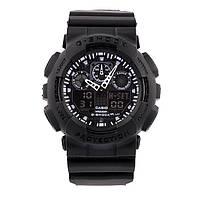 Спортивные наручные часы Casio G-Shock ga-100 Black Касио реплика