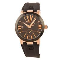 Стильные наручные часы Ulysse Nardin Executive Dual Time Black