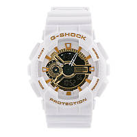 Спортивные наручные часы Casio G-Shock ga-110 White-Gold
