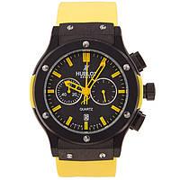 Мужские наручные часы Hublot Classic Fusion Yellow, фото 1