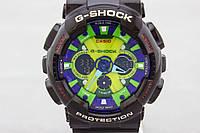 Спортивные часы Casio G-Shock GA-200RG Black-Уellow