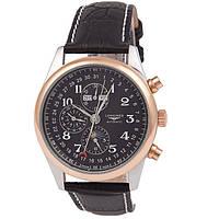 Мужские классические часы Longines Master Collection Black Gold, фото 1