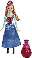 Mattel Disney Frozen Холодное сердце Кукла Анна-платье меняет цвет