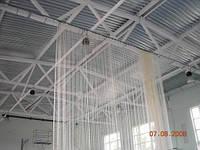 Сетка оградительная (разделительная)ячея 40х40, диаметр шнура 3,5мм, м.кв., белая, фото 1