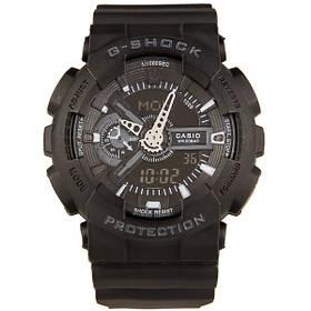 Мужские Электронные Японские Наручные Спортивные часы Sport watch Casio G-Shock GA 110 Black Копия