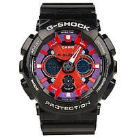 Спортивные наручные часы Casio G-Shock GA-120 Black Red