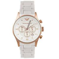 Мужские стильные часы Armani AR5919 White