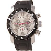 Мужские дизайнерские часы Bvlgari Rose Silver Mechanical Watch