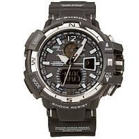 Распродажа! Спортивные часы Casio G-Shock GWA-1100 Black-White