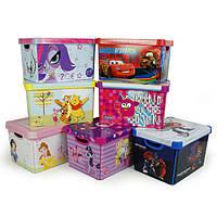 Ящики, коробки, корзины для хранения вещей игрушек