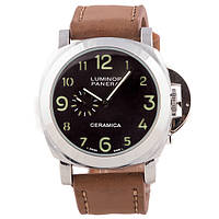 Мужские часы Panerai Luminor 1950 Silver Brown