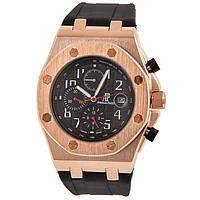 Дизайнерские мужские часы Audemars Piguet Royal Oak Offshore Black