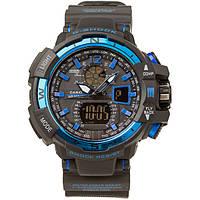 Распродажа! Спортивные часы Casio G-Shock GWA-1100 Black-Blue