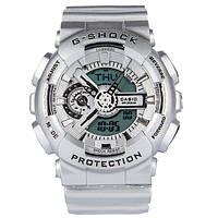 Распродажа! Спортивные часы Casio G-shock GA-110 Silver