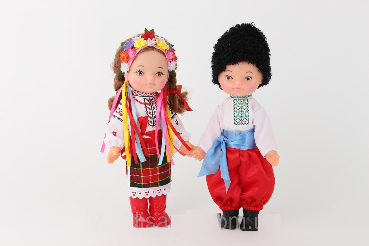 """*Набор кукол в украинских национальных костюмах """"Дiти Украiни"""" арт. 223"""