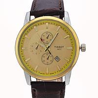 Стильные часы Tissot Gold