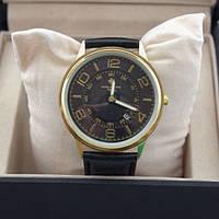 Стильные часы Patek Philippe Gold Black, фото 1