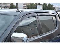 Ветровики на авто Mitsubishi L200 IV 2007-