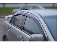 Ветровики на авто Mitsubishi Lancer Sd/Hb 2007-