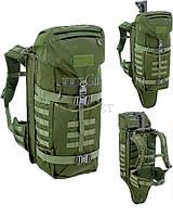 Рюкзак Defcon5 Battle Pack. Объем - 45 л. Цвет - оливковый