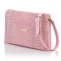 4458c79d959c Интернет магазин сумок SUMKOFF - женские и мужские сумки, клатчи, кошельки,  рюкзаки. г. Днепр. Розовая сумочка-клатч имитация кожи змеи
