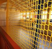 Сетка оградительная (разделительная)ячея 40х40, диаметр шнура 3,5мм, цветная, м.кв.