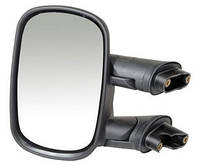Дзеркало лiве чорне Fiat Doblo (2000-2012) ручне регулювання