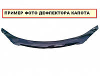 Дефлектор капота (мухобойка) Peugeot 207 с 2006-